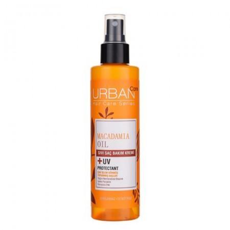 Urban Care Makademya Yağı & Keratin İçeren Yoğun Nemlendirici & Onarıcı Sıvı Saç Kremi 200 ML