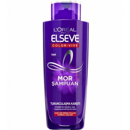 Loreal Elseve Turunculaşma Karşıtı Mor Şampuan 200 ML