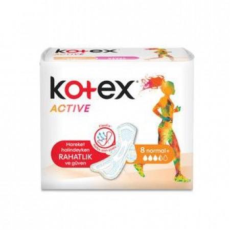 Kotex Active Hijyenik Ped Ultra Extra Normal 8 Li