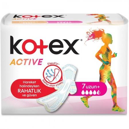 Kotex Active Hijyenik Ped Ultra Extra Uzun 7 Li
