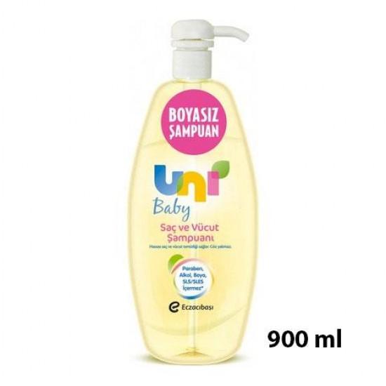 Uni Baby Bebek Şampuanı Pompalı 900 ML