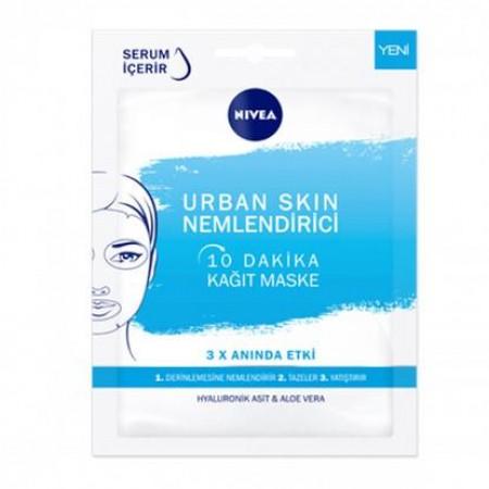 Nivea Urban Skin Nemlendirici 10 Dakika Kağıt Maske