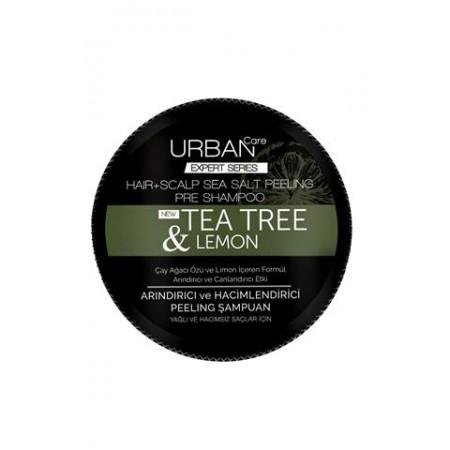 Urban Care Çay Ağacı Özü ve Limon içeren Arındırıcı Canlandırıcı Etkili Peeling Şampuan 200 ML