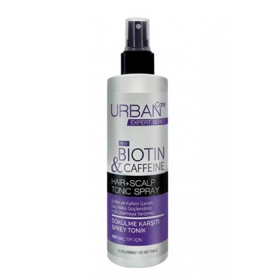 Urban Care Biotin ve Kafein içeren Saç Kökü Güçlendirici Hızlı Uzamaya Yardımcı Tonik 200 ML