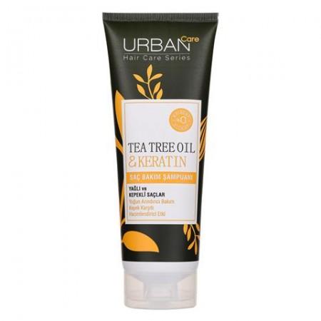 Urban Care Çay Ağacı Yağı & Keratin İçeren Yoğun Arındırıcı & Kepek Karşıtı Şampuan 250 ML