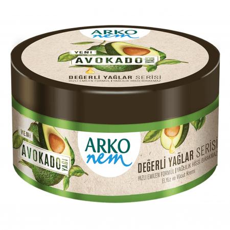 Arko Değerli Yağlar Avokado Yağlı Krem 150 Ml