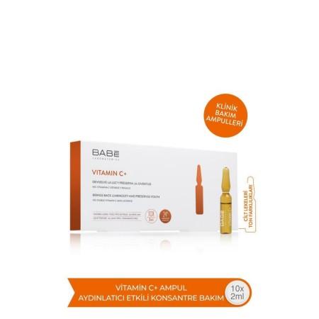 Babe Vitamin C+ 10x2 Ampul - Cilt Leke ve Ton Farklılıkları İçin