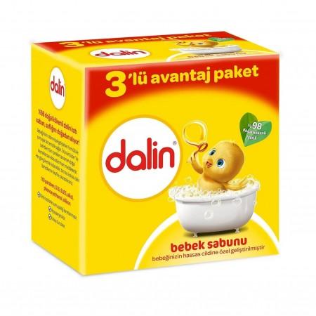 Dalin Bebe Sabun 100gr 3lü