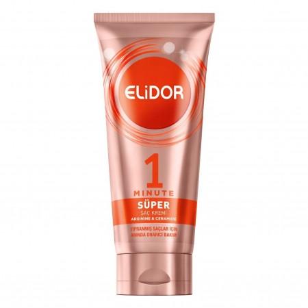 Elidor 1 Minute Anında Onarıcı ve Yeniden Yapılandırıcı Süper Bakım Kremi 170 Ml