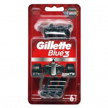 Gillette Blue 3 Comfortable Cool 6 lı