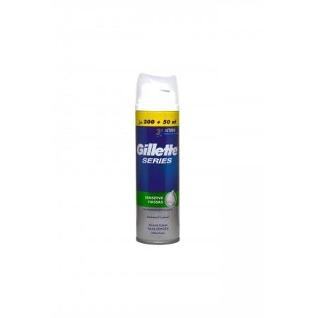 Gillette Series Tıraş Köpüğü Sensitive Hassas 250 Ml