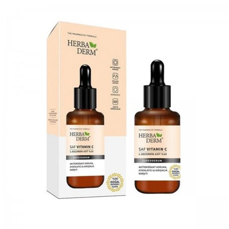 Herbaderm Saf C Vitamin %10 Serum 30 Ml
