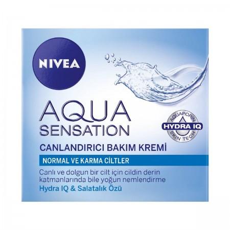 Nivea Aqua Sensation Canlandırıcı Bakım Kremi
