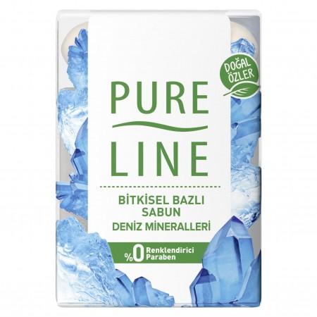 Pure Line Sabun 4lü Deniz Minerali 280gr