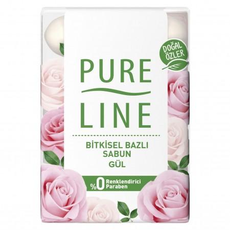 Pure Line Sabun 4lü Gül 280gr