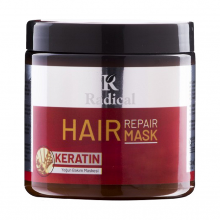 Radical Hair Care Maske Keratin 500 Ml