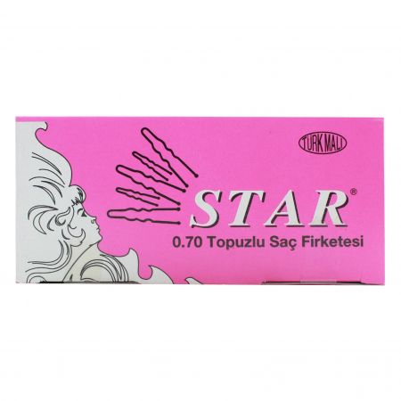 Star Saç Firketesi Topuzlu 0.70 150gr