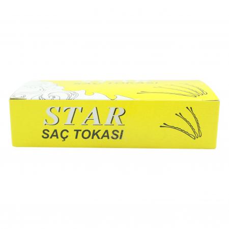 Star Topuzlu Sarı Tel Toka No 5 200 Adet