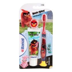 Banat Diş Firçası + Macun Angry Birds