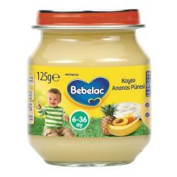 Bebelac Ananas Püresi Kavanoz Maması 125 gr