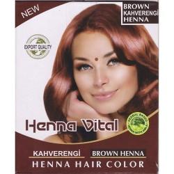 Henna Vital Hint Kınası Kahverengi