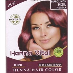 Henna Vital Hint Kınası Kızıl