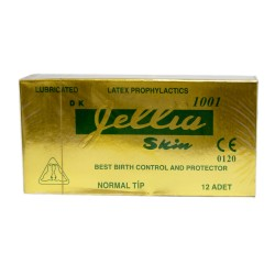 Jellia Skin Normal Prezervatif 12 Li