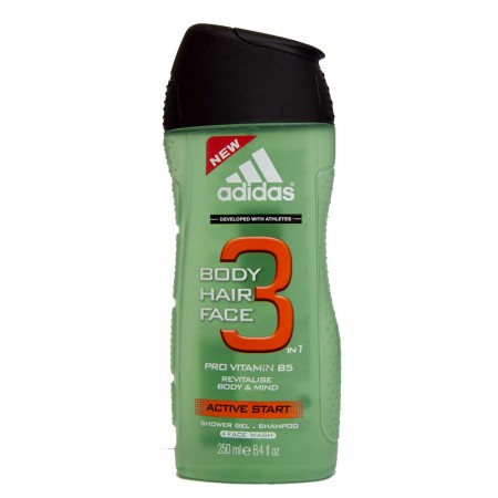 Adidas Erkek Duş Jeli 250 ML Active Start