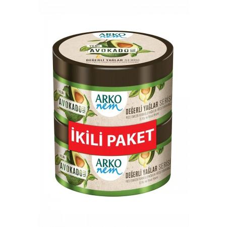 Arko Nem Değerli Yağlar Avokado Krem 2 Adet x 250 ML