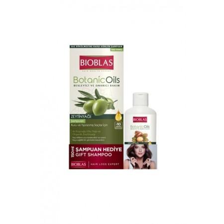 Bioblas Botanic oil Zeytinyağlı Şampuan 360 ML + 150 ML Şampuan Hediyeli