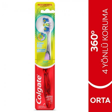 Colgate 360 Single Advanced Diş Fırçası