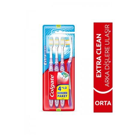 Colgate Diş Fırçası Extra Clean 3+1