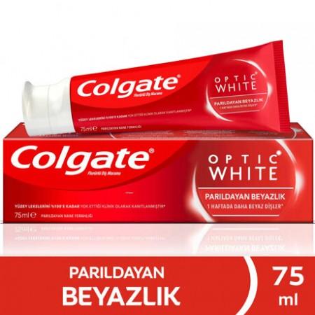 Colgate Diş Macunu Optik Beyaz Parıldayan Beyazlık 75 ML