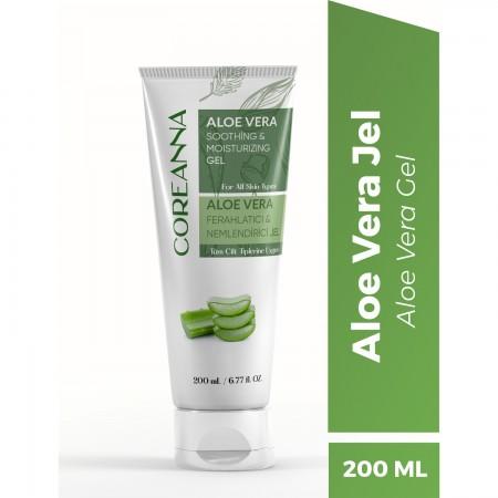 Coreanna Aloe Vera Özlü Ferahlatıcı Nemlendirici Jel 200 ML