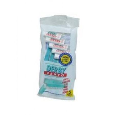 Derby Banyo Tıraş Bıçak 5' li Paket
