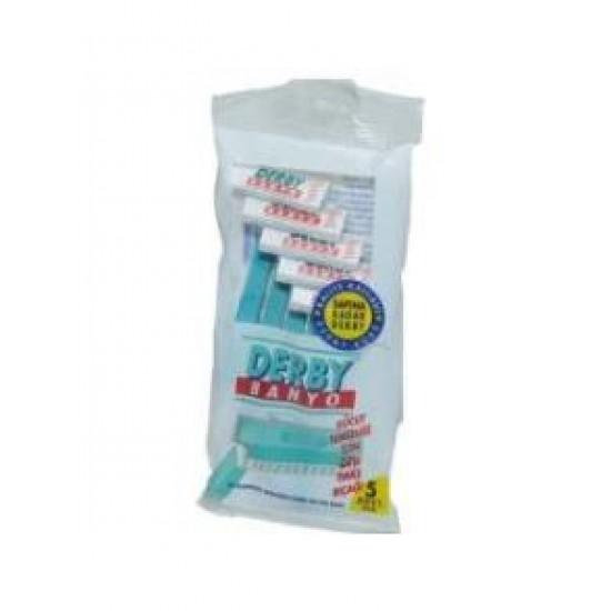 Derby Banyo Tıraş Bıçak 5 li Paket