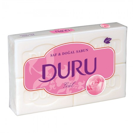 Duru Sabun Banyo 4x150gr Gül