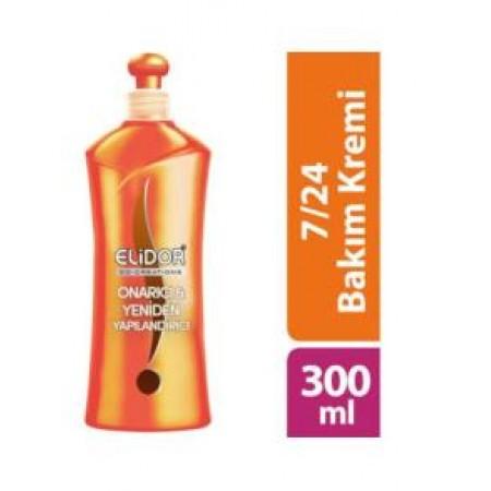 Elidor Saç Kremi 7/24 Onarıcı Ve Yeniden Yapılandırıcı 300 ML