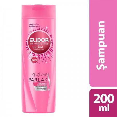 Elidor Şampuan Güçlü Ve Parlak 2'si 1 Arada 200 ML