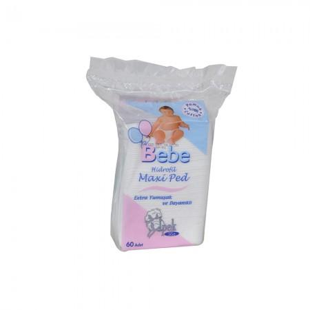 İpek Bebek Temizleme Pamuğu 60 Adet