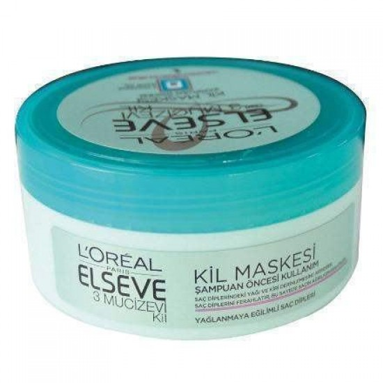 Loreal Elseve 3 Mucizevi Şampuan Öncesi Kil Maskesi 150 ML