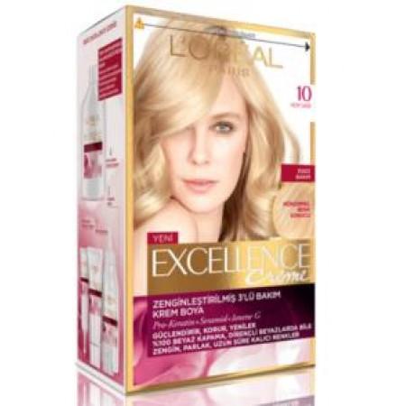 Loreal Excellence Saç Boyası 10 Açık Sarı