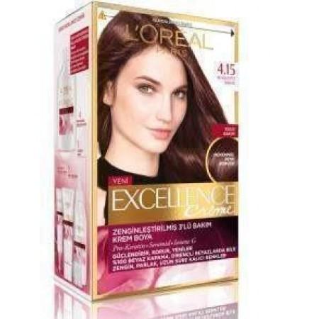 Loreal Excellence Saç Boyası 4.15 Türk Kahvesi