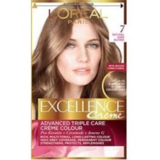 Loreal Excellence Saç Boyası 7.0 Kumral