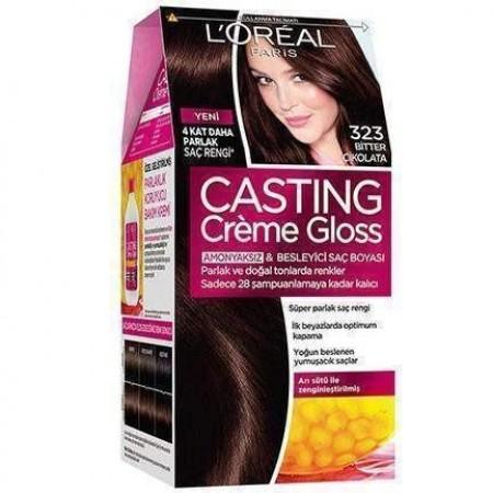 Loreal Paris Casting Creme Gloss Saç Boyası 323 Bitter Çikolata