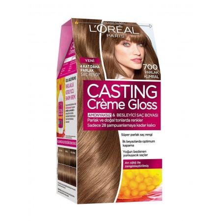 Loreal Paris Casting Creme Gloss Saç Boyası 700 Parlak Kumral