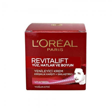 Loreal Paris Revitalift Yüz Ve Boyun Kremi 50 ML