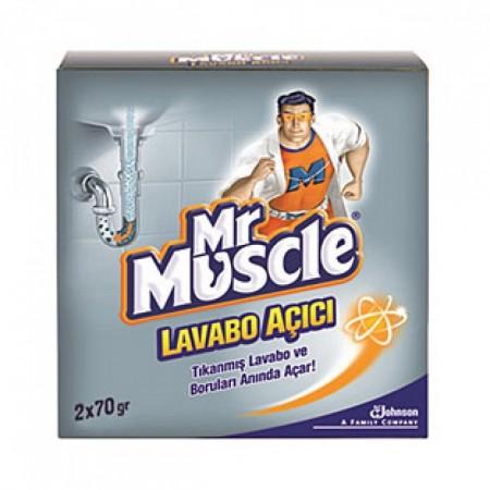 Mr Muscle Lavabo Açıcı Granül 2 x 70 gr