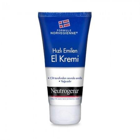 Neutrogena El Kremi  75 ML Hizli Emilen