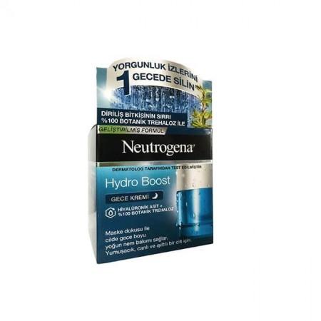 Neutrogena Hydro Boost Gece Kremi Geliştirilmiş Formül 50 ML
